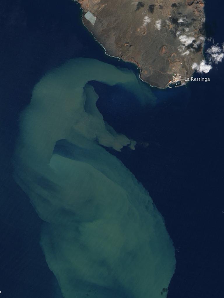 Hierro submarine eruption