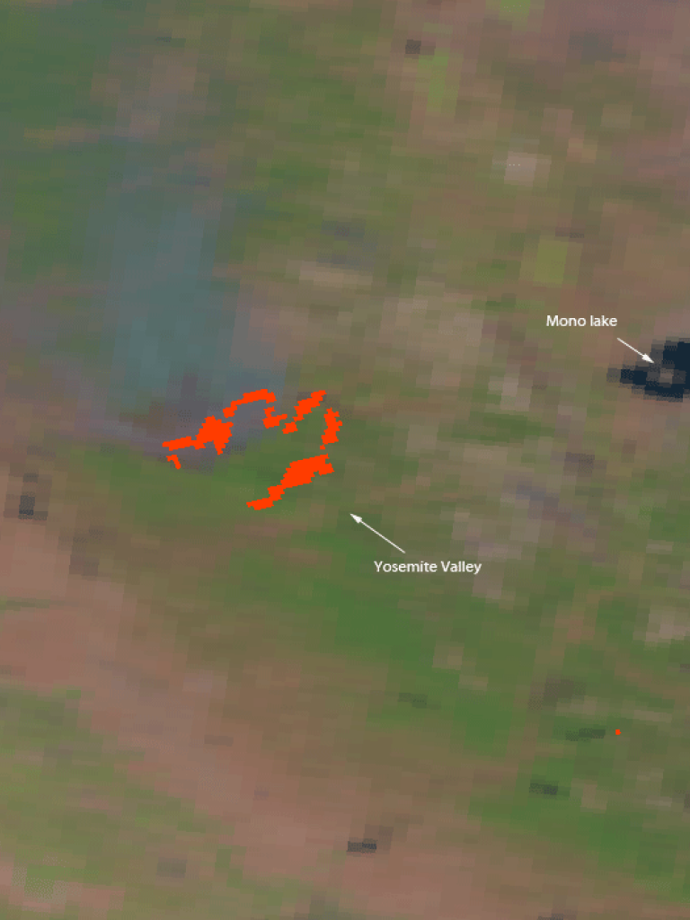 Tuolumne county rim fires