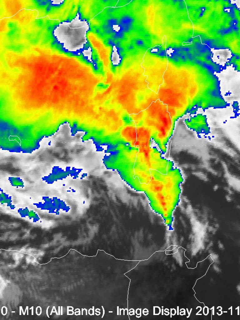 Flash floods in Sardinia