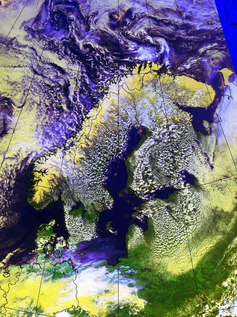 Shallow convection over Finland