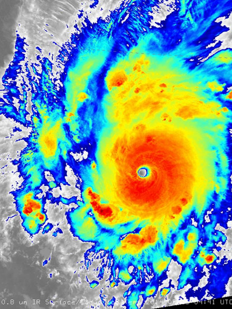 Record-breaking Hurricane Amanda