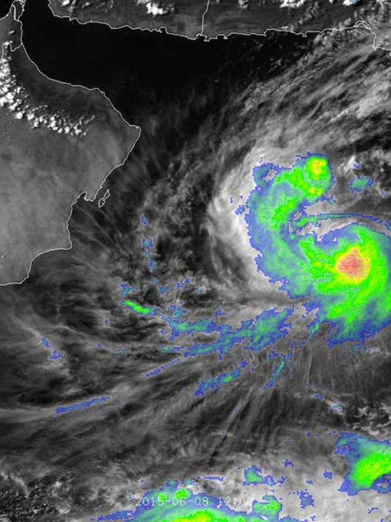 Tropical Cyclone Ashobaa