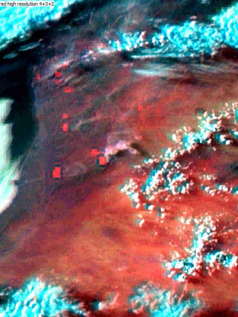 Fires in the Iberian peninsula