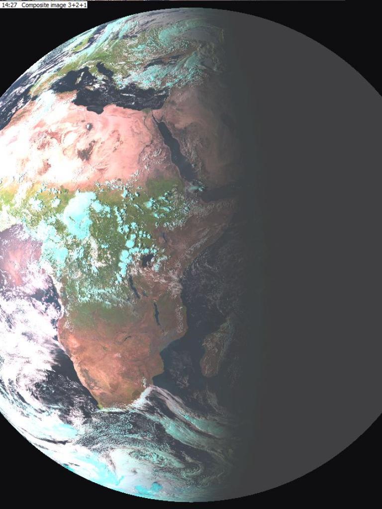 Sun glint during September equinox