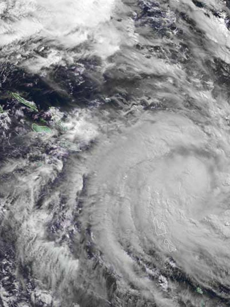 Severe Tropical Cyclone Donna