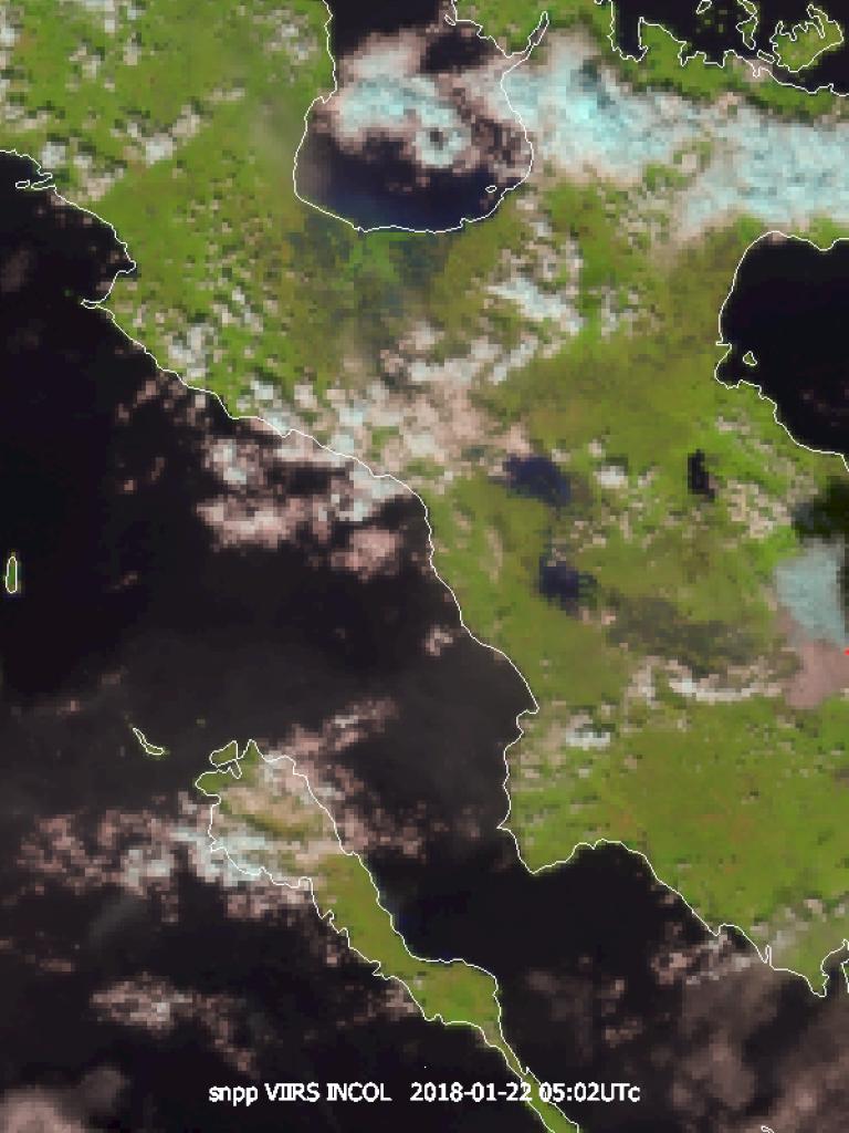 Eruption of Mount Mayon