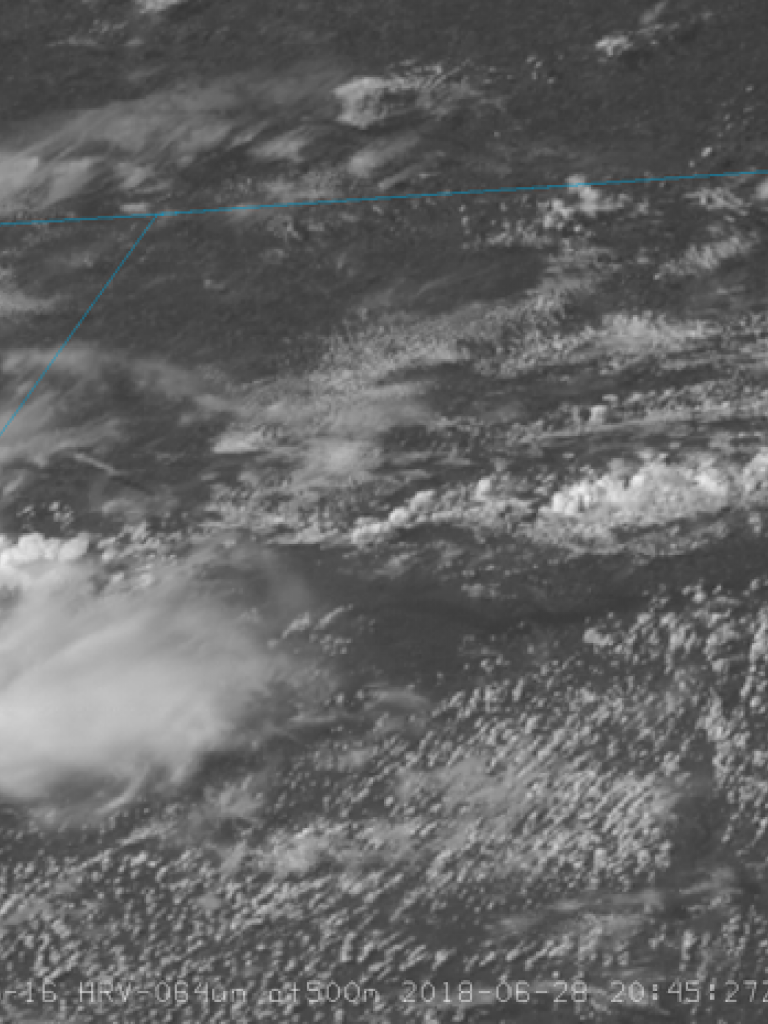 Severe storm life-cycle observed through GOES satellite