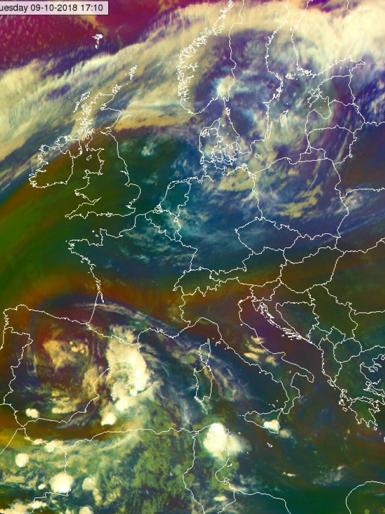 Severe flash floods in Mallorca