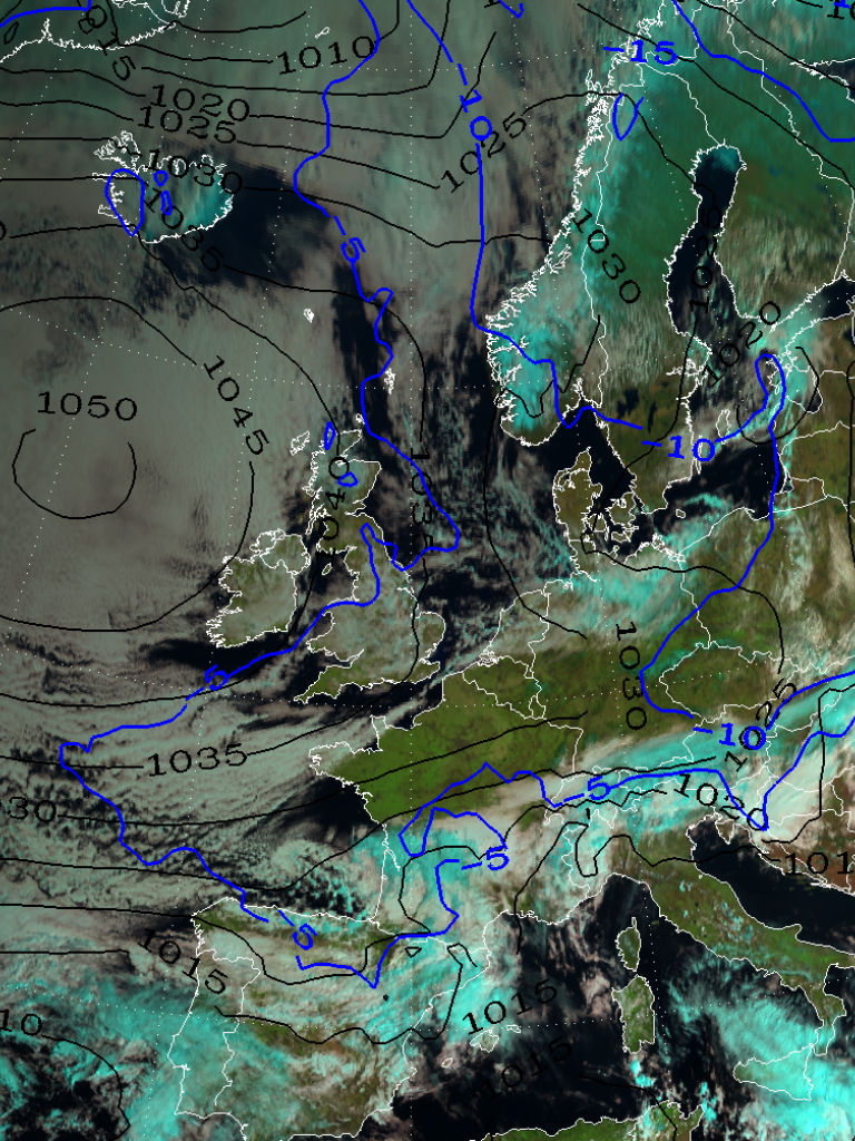 Cold spell in Europe