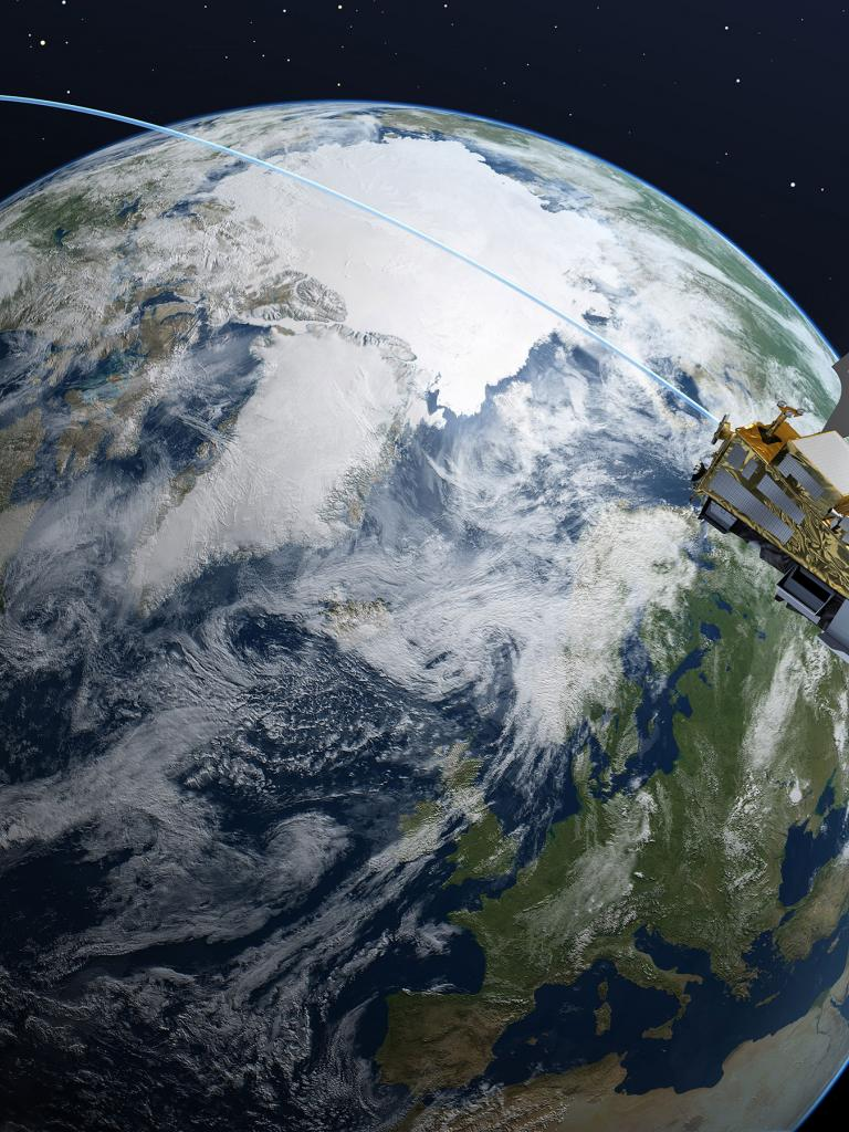 Metop SG artists impression