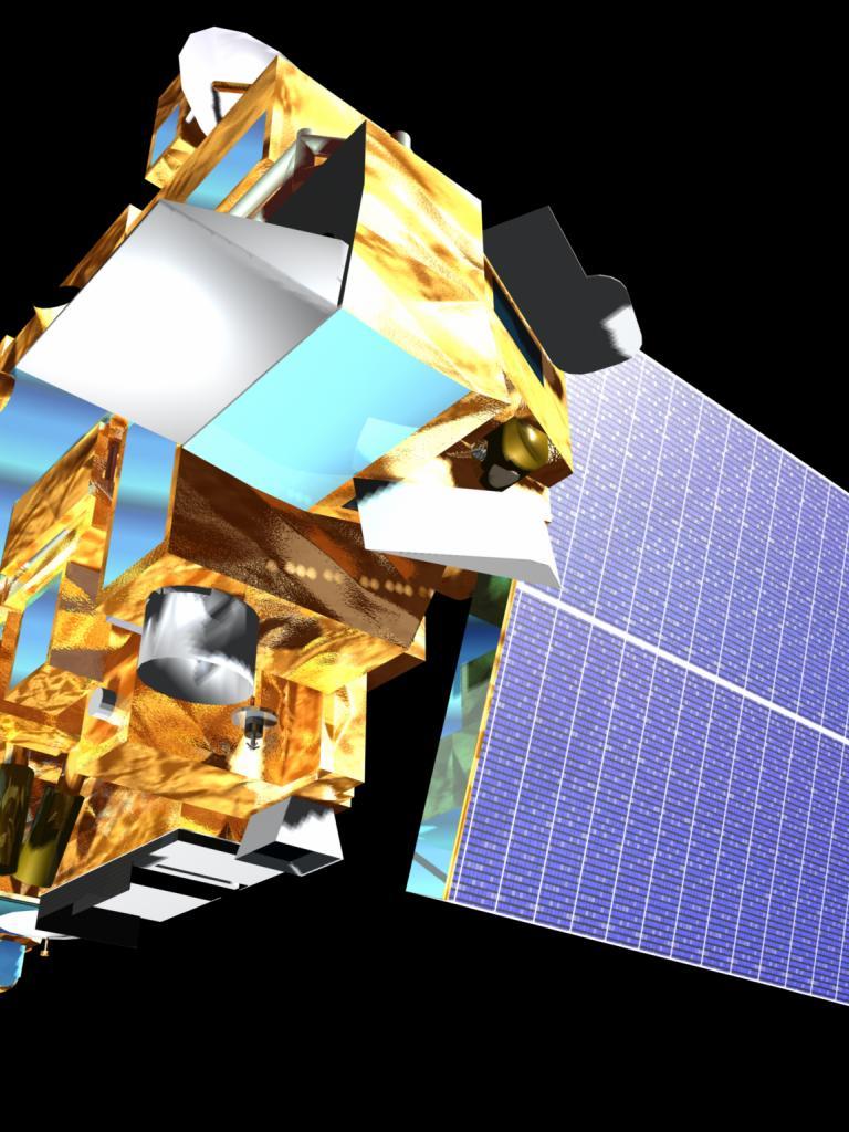 Terra satellite