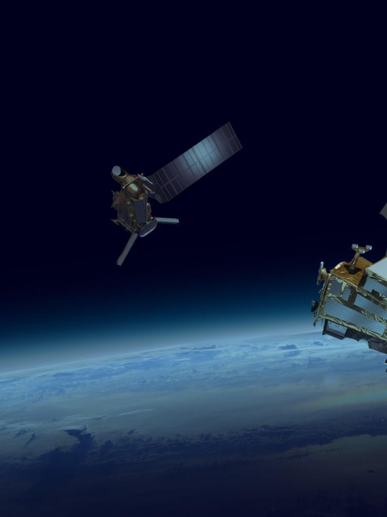 Metop-SG satellites in orbit