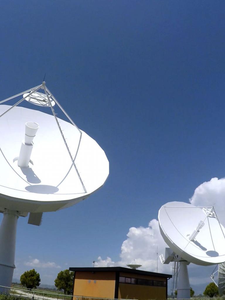 MSG Antenna, Fucino Italy
