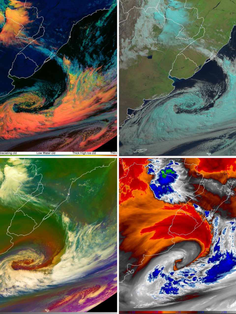 Cyclogenesis off Uruguay and southern Brazil