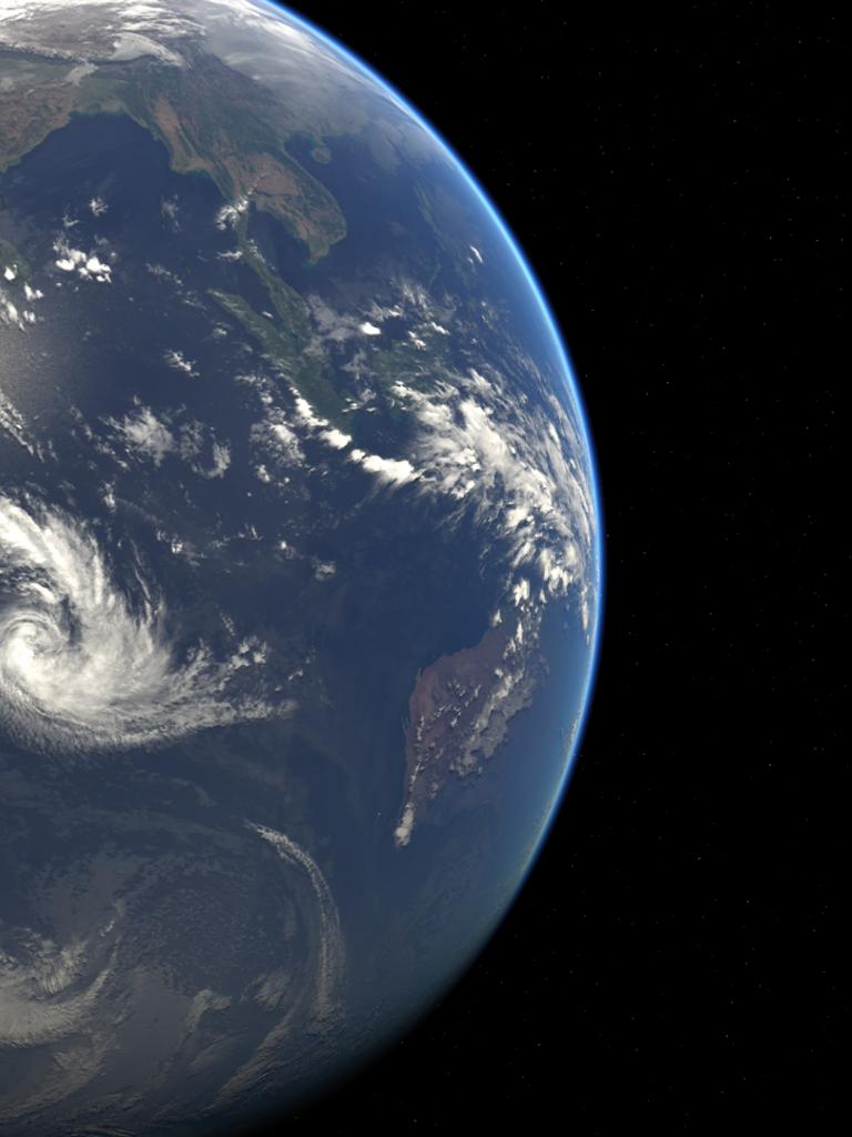 Composite of Indian Ocean