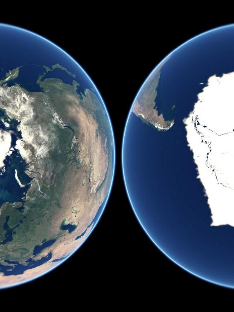 A year of polar ice