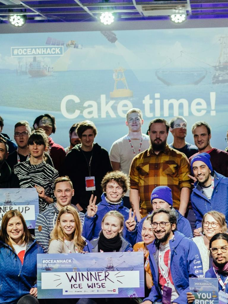 Inspiring ocean projects developed at Copernicus hackathon weekend