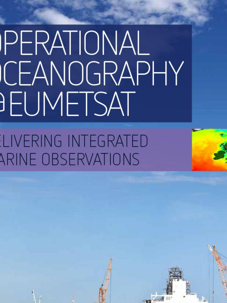 OPERATIONAL OCEANOGRAPHY EUMETSAT