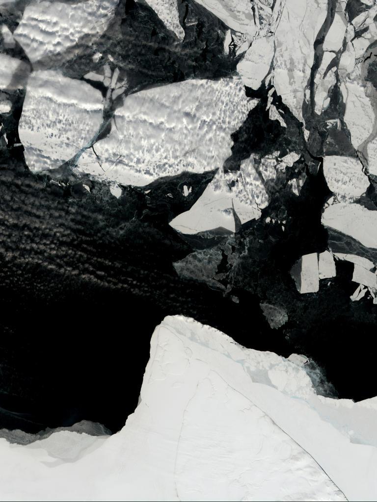 climate satellites ice caps