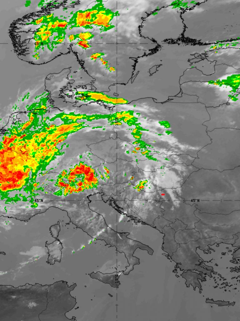IR10.89 NWC SAF precipitating clouds